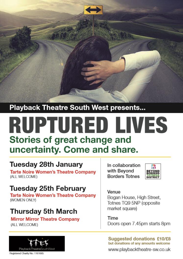 Ruptured Lives Poster